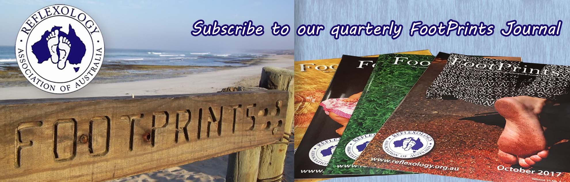 subscribe to refelexology Footprints magazine